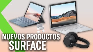 NUEVOS LANZAMIENTOS MICROSOFT: SURFACE GO 2, Surface Book 3, Surface Headphones 2 y Surface Earbuds