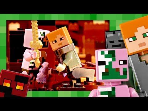 Vidéo LEGO Minecraft 21139 : La bataille du Nether