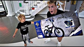 Jake Paul SURPRISES Tydus With A NEW BIKE!!