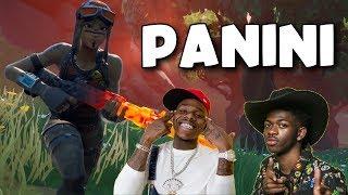 "Fortnite Montage   ""PANINI"" (Lil Nas X & Dababy)"
