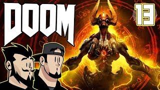 DOOM Lets Play: Knocking On Satan's Door - PART 13 - TenMoreMinutes