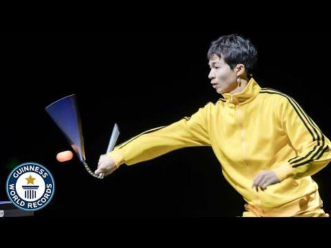 How Good is This Nunchuck Ninja vs a Ping Pong Robot?