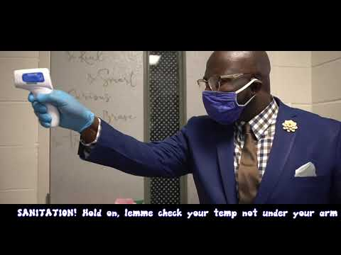 Dr. Lee presents Can't Touch This Covid Parody