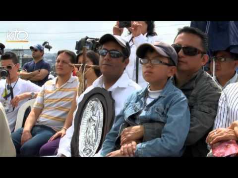 """A Quito, le pape propose la """"révolution"""" de l'Evangile"""