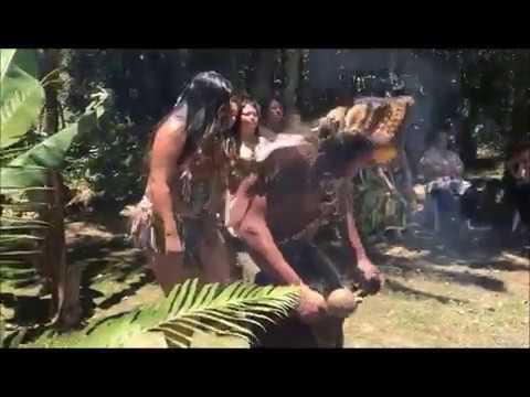 Retiro com Marly Cordeiro e participação dos indígenas da Aldeia bananal etnia Tupi