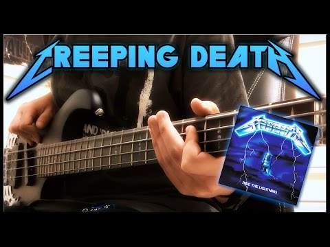 Metallica - Creeping Death - Bass Cover - Full HD 1080p