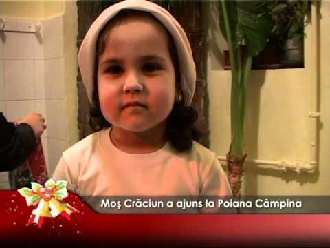 Moş Crăciun a ajuns la Poiana Câmpina