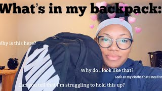 What's in my backpack 2019!!
