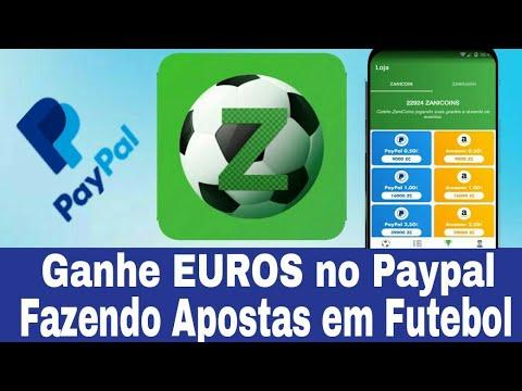 ZANIBET - Ganhe Até €20 Euros no Paypal Fazendo Apostas em Futebol