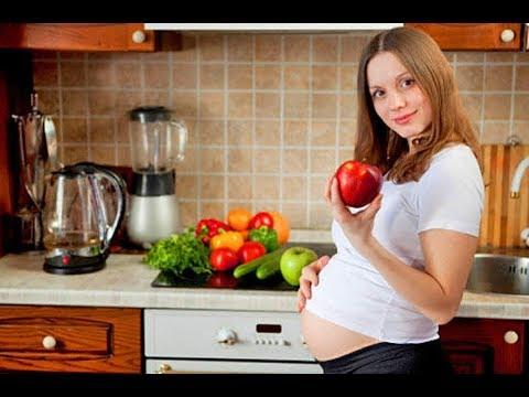 Как похудеть во время беременности?Стройная беременность.Диета 3 триместра.