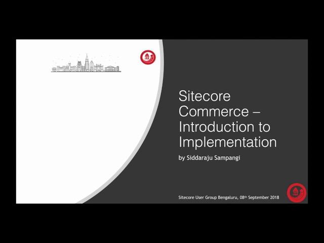 Sitecore Experience Commerce 9 – An Introduction