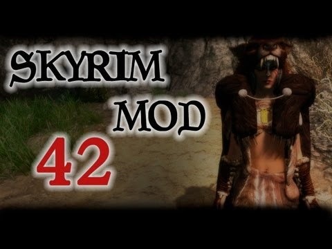 Skyrim Mod #42 - Character Creation Body Tattoo, Trade&Barter, Gleaming Falls