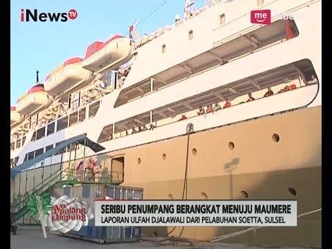Laporan Terkini Arus Mudik & Balik Pelabuhan Soekarno Hatta, Makassar - iNews Pagi 29/06