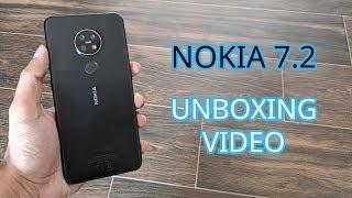 Nokia 7.2 Unboxing | 6GB RAM / 128GB Storage | Charcoal