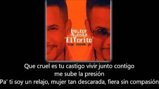Hector Acosta ft Aventura - Me Voy (lyric - letra)