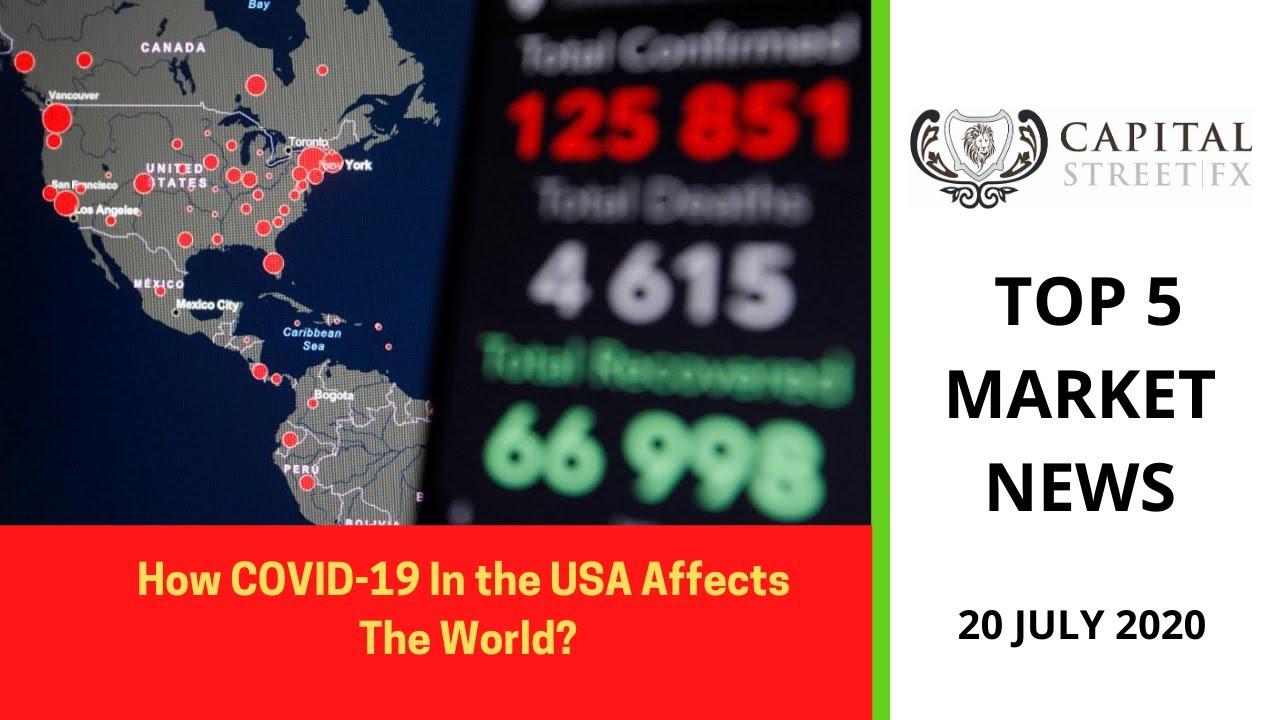 Financing & Global News 20th July 2020 – U.S COVID-19, EU STIMULUS
