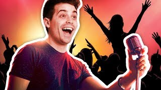 DAMIEN BECOMES A POP STAR!