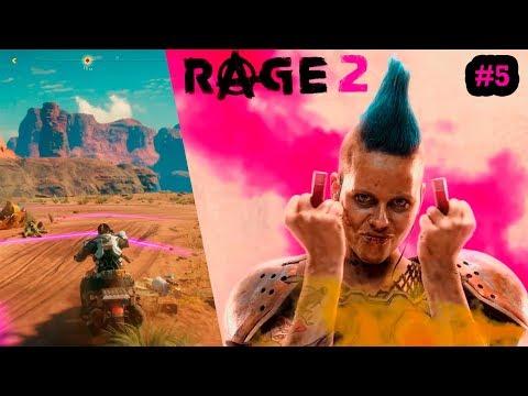 Rage 2. Прохождение #5. Кусака. Этот парень был из тех, кто просто любит жизнь.(PS4 PRO)