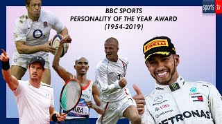 BBC Sports Personality of the Year Award List