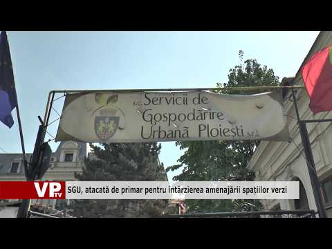 SGU, atacată de primar pentru întârzierea amenajării spațiilor verzi