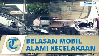 Belasan Mobil Warga Kampung Miliarder Tuban Rusak Alami Kecelakaan, Pemilik Belum Mahir Nyetir