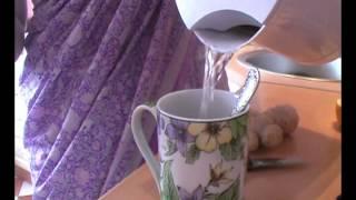 гречка с овощами в пароварке и имбирный чай
