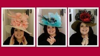 I Made Kentucky Derby Hats!