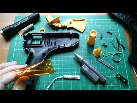 Inside a Glue Gun