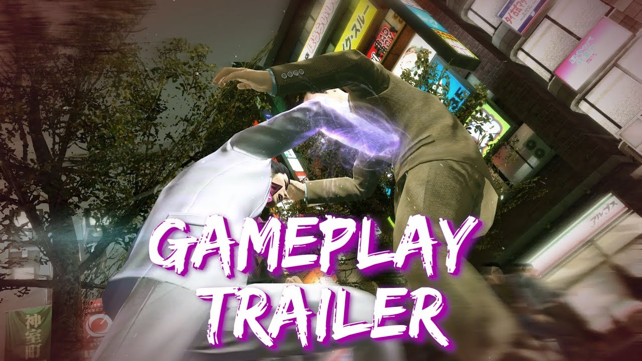 Yakuza Kiwami: Gameplay Trailer