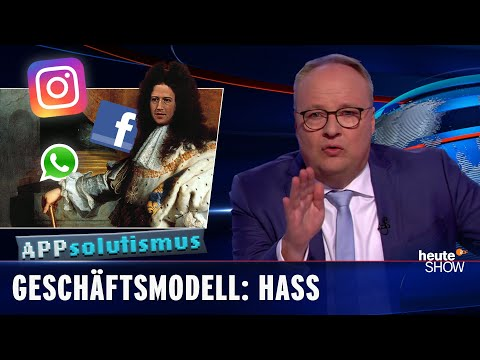 Facebook: Mark Zuckerberg stvořil monstrum! - heute show