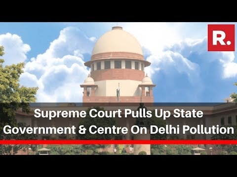 Supreme Court Pulls Up State Government & Centre; Questions Odd-Even Scheme