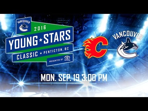 Vancouver Canucks vs Calgary Flames - Young Stars (Sept. 19, 2016)