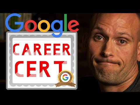 Google Career Certificates | Replacing College Degrees, Coding ...