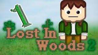 Lost In Woods 2 #1 Жесткий хардкор, выживание в диком лесу