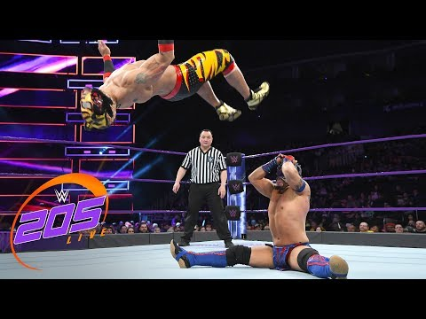 Download Kalisto vs. Lince Dorardo: WWE 205 Live, Feb. 6, 2018 Mp4 HD Video and MP3
