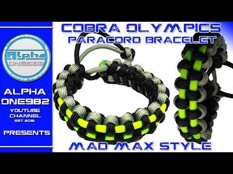 Download King Cobra Paracord Bracelet Without Buckle Video