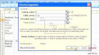 Excel: VLOOKUP Function Tutorial (new)