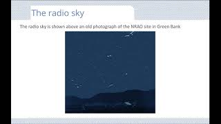 A quick introduction to radio astronomy
