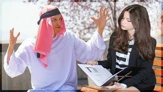 PICKING UP GIRLS BY *SPEAKING ARABIC* - FUNNY PRANK