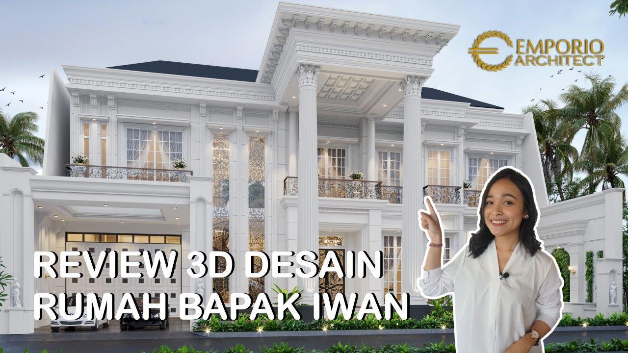 Video 3D Mr. Iwan Classic House 2 Floors Design - Cinere, Depok