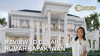 Video Mr. Iwan Classic House 2 Floors Design - Cinere, Depok