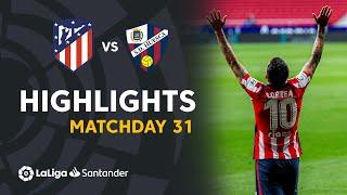 Highlights Atletico Madrid vs SD Huesca (2-0)