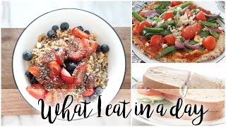 What I Eat In A Day | Easy VEGETARIAN Meals