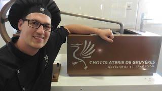 Artisan chocolate tour in Gruyere, Switzerland - How to make chocolate