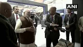 Prime Minister Mr. Narendra Modi visited Zen Technologies stall @Defexpo2020