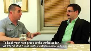 Best Hotel In Israel Ambassador Hotel Jerusalem - Tamer Abu-Dayyeh And Greg Reilly