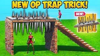 SUPER OP TRAP TRICK!! - Fortnite Funny Fails and WTF Moments! #604