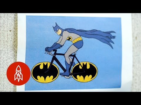 Bike Batman to the Rescue