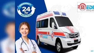 Get Stupendous Emergency Ambulance Service in Chanakyapuri and Janakpuri