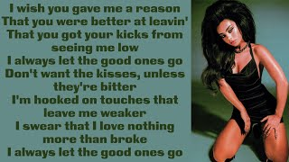 Charli XCX ~ Good Ones ~ Lyrics